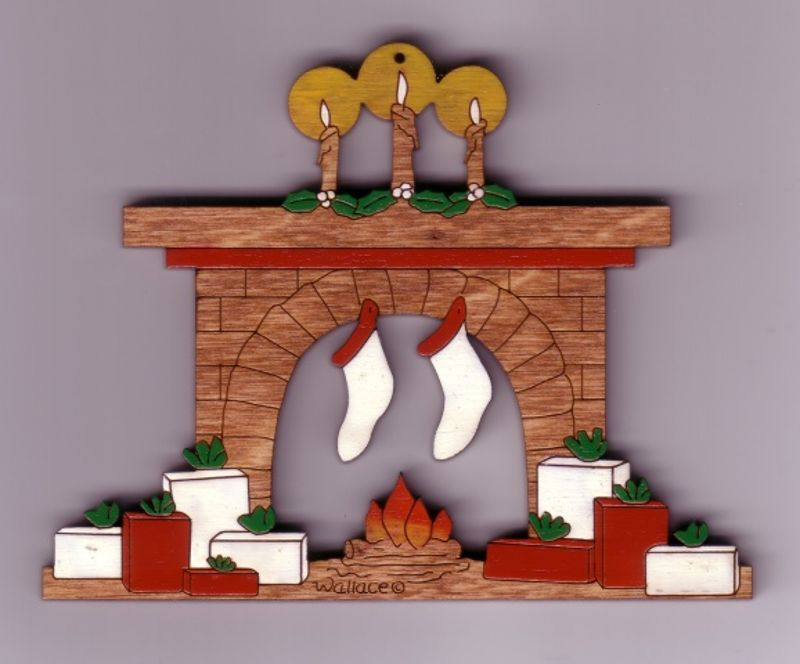 Family Fireplace #037