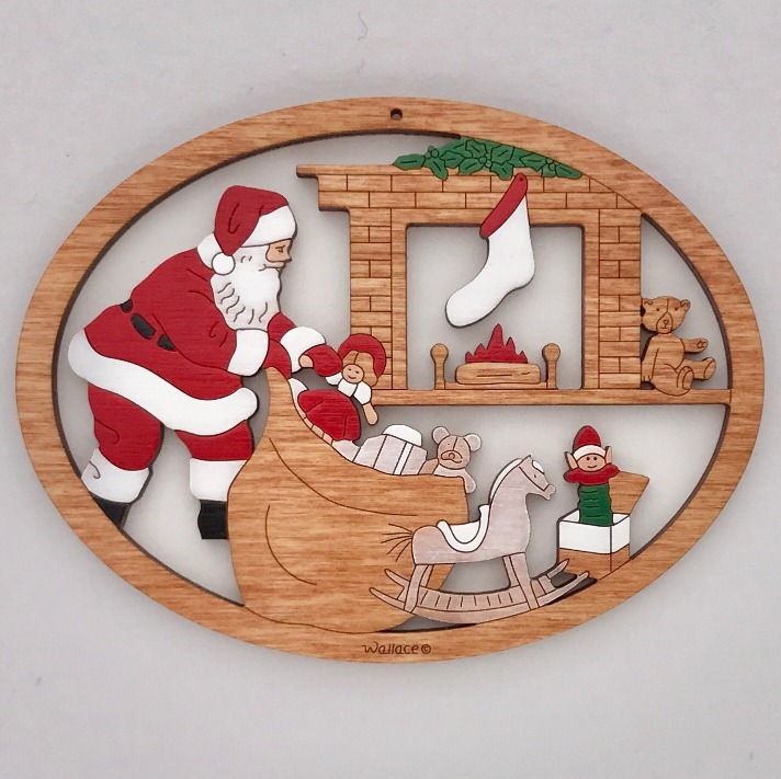 Santa with Toys #017 - Click Image to Close
