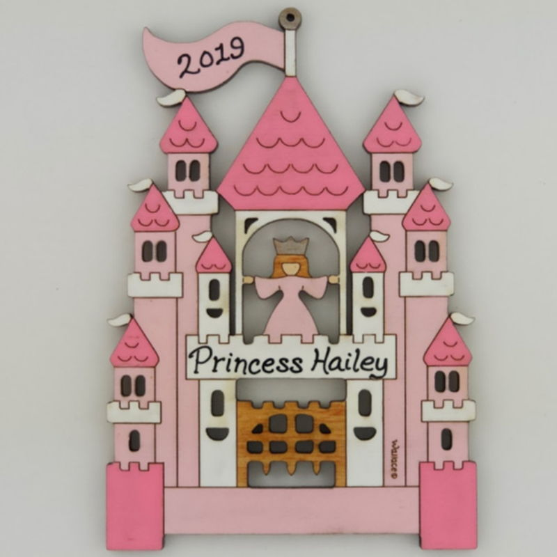 Princess Castle Ornament