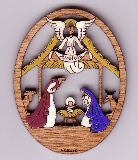 Nativity Pin #190