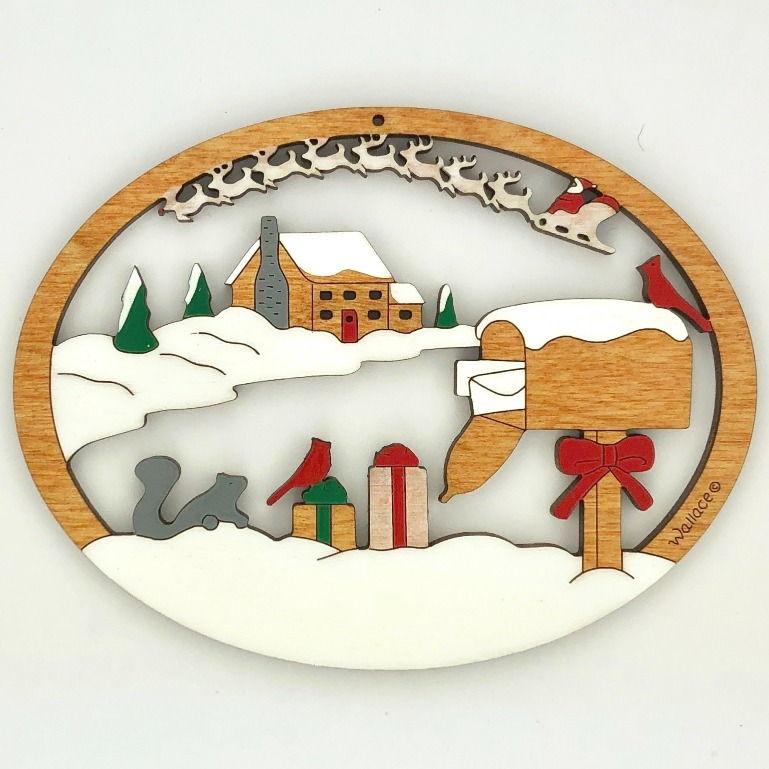 Christmas Cabin #241 - Click Image to Close