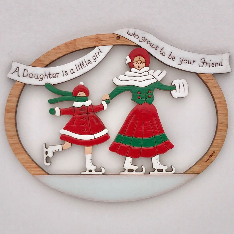 Mother/Daughter Ornament