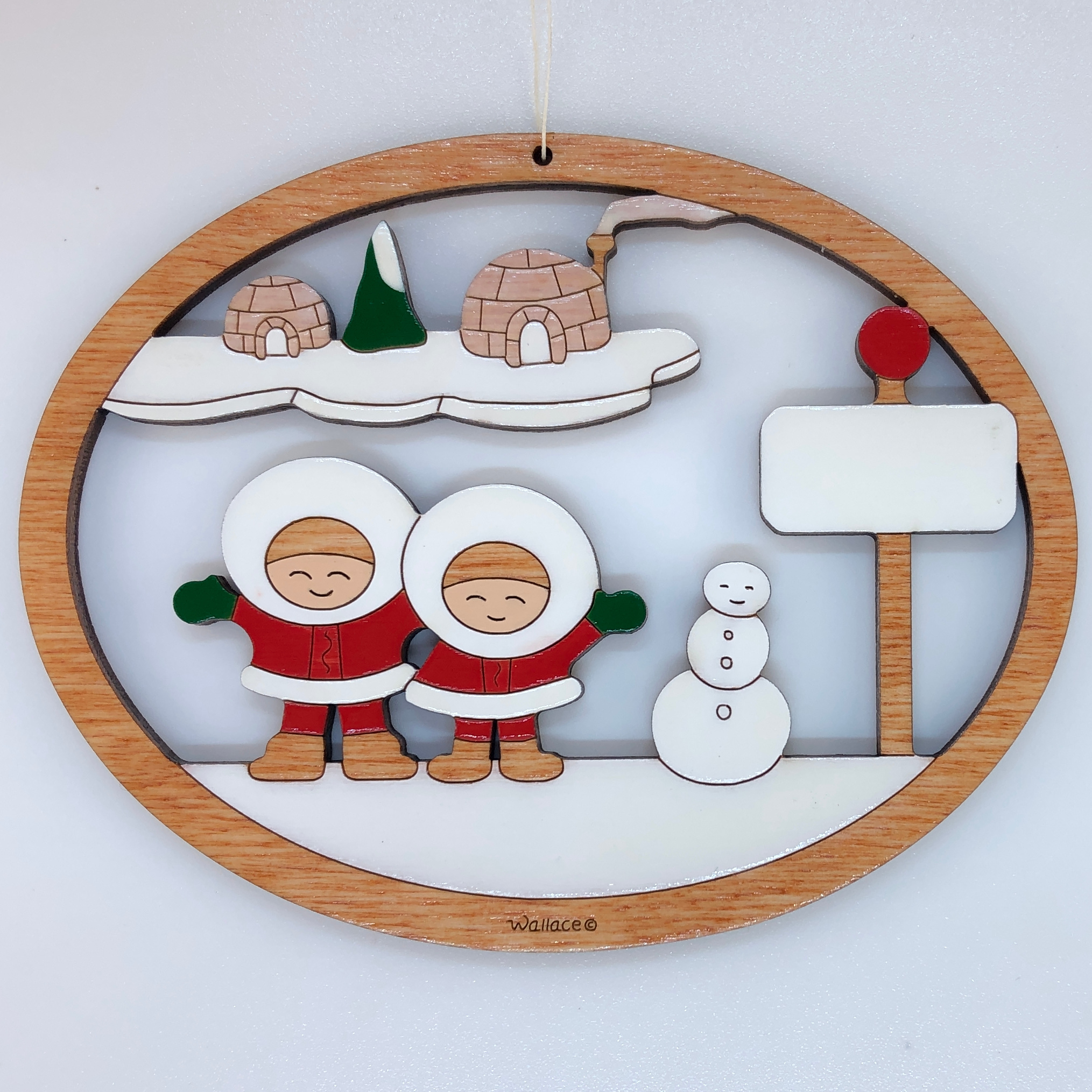 Eskimo Family 2 Ornament