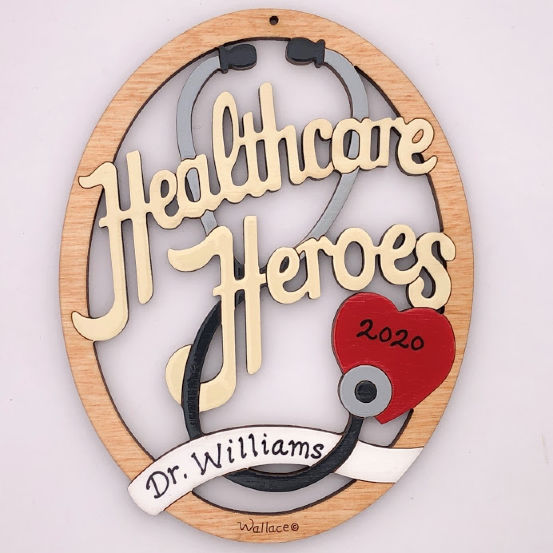 Healthcare Hero Ornament