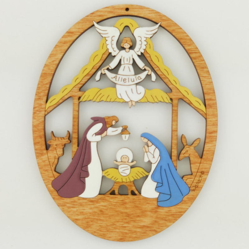 Mary, Jesus & Joseph Ornament