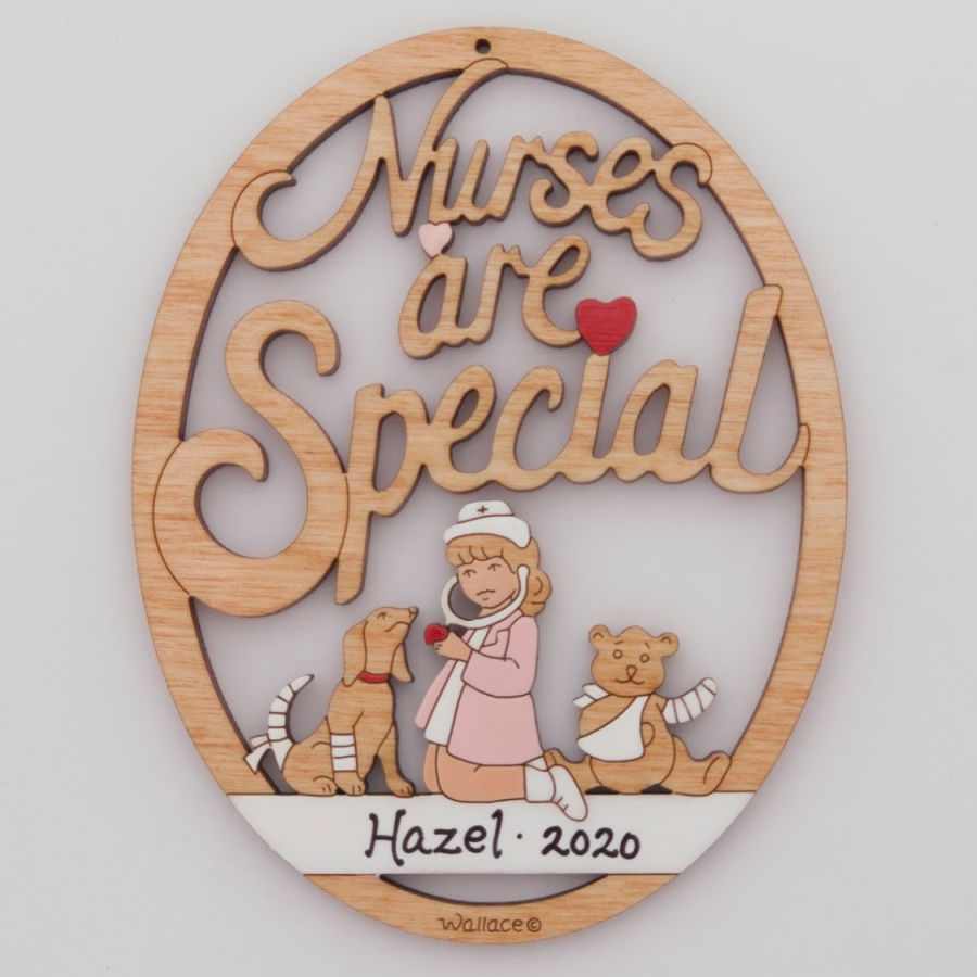 Nurses Are Special Ornament