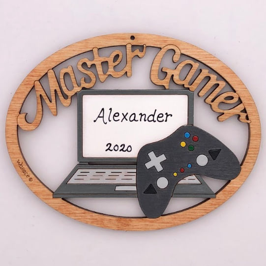 Gamer Ornament