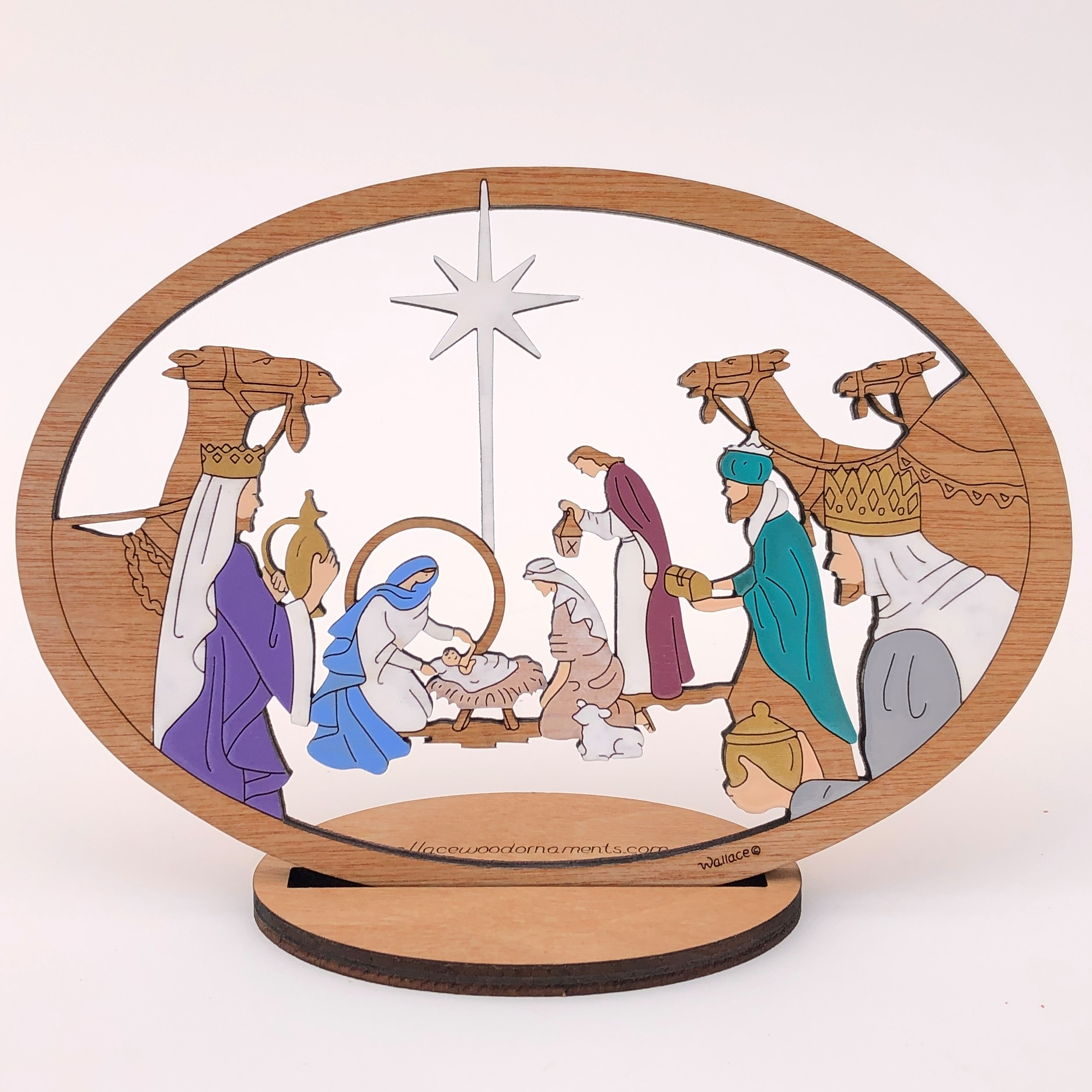 Small Camel Nativity #215