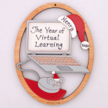Virtual Learning Ornament