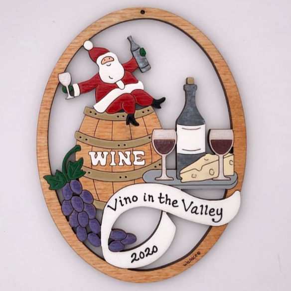 Wine Lover Ornament