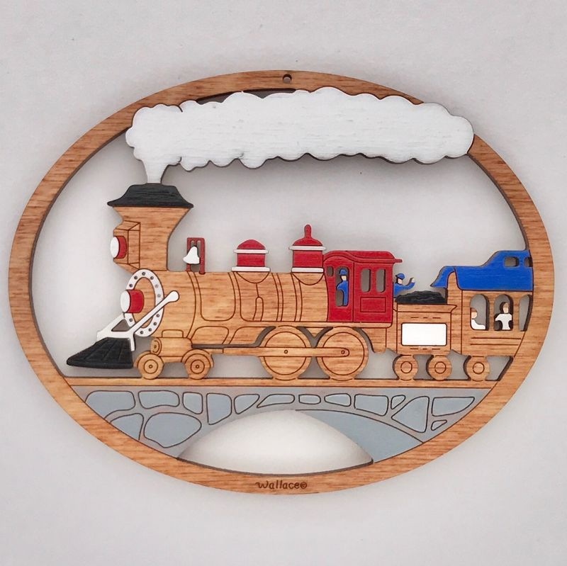 Choo-Choo Train Ornament