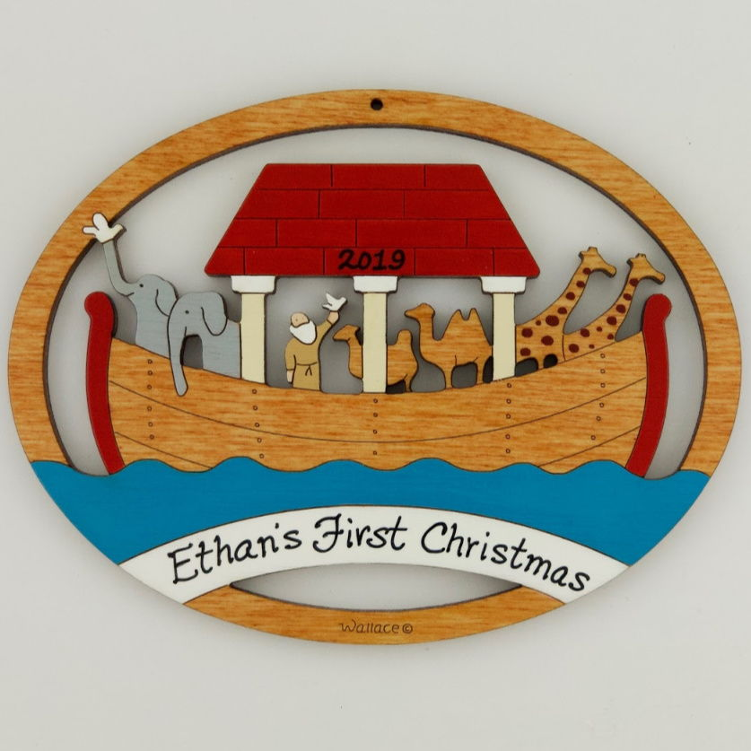 Noah's Ark Ornament